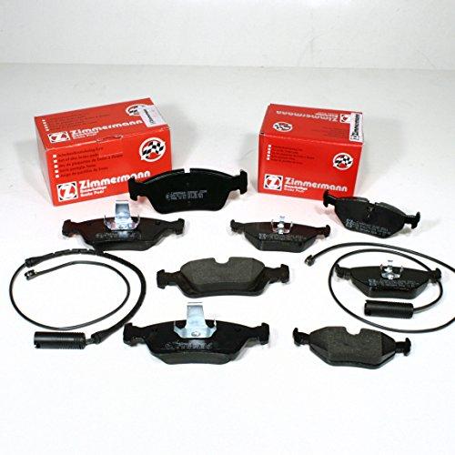 Zimmermann//Warning Cables for Brake Pad Set Front + Rear Brake Pads: