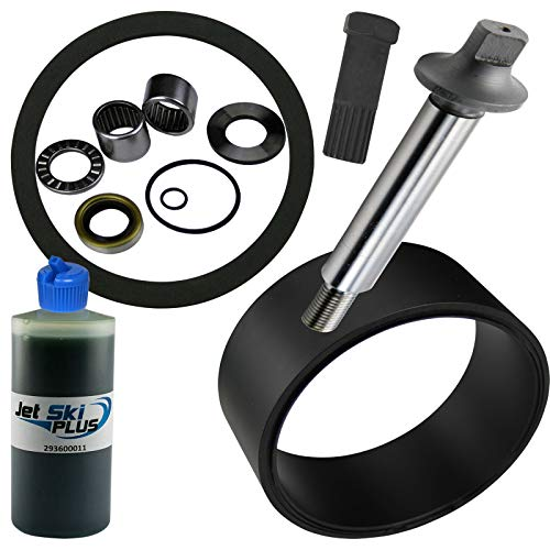 Jet Pump Rebuild Kit Wear Ring Impeller Shaft Seal Oil & Impeller Tool (Compatible With Sea-Doo, Fits 1999-2004 XP, XP DI, XP LTD & 1999-2003 GTX, DI & LTD, See Ad For EXACT Model & Year Fit) ()