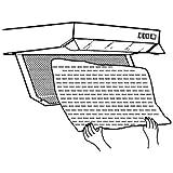 2 Stück universal Filter für Dunstabzugshaube, Dunstfilter, Fettfilter von M&H-24