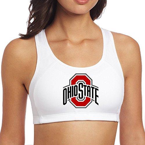 Ohio State Buckeyes Sports Teams Fashion Yoga Bras Fashion Tops