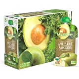 Happy Baby Clearly Crafted Organic Baby Food Stage 2, Apples Kale & Avocados, 4 Ounce, 16 Count