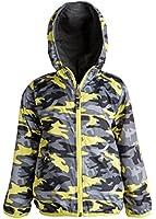 Ixtreme Little Boys Lightweight Colorblock Water Resistant Reversible Jacket