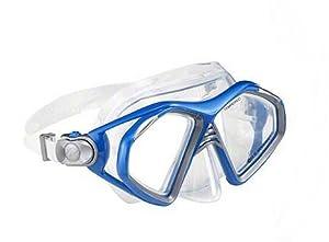 U.S. Divers Unisex Admiral Pro Lx Silicone Swim Mask, Blue, OS