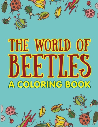 World Beetles Coloring Book