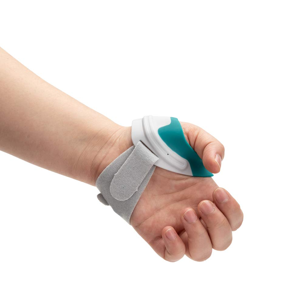 CMC Guider Medical Ortho Thumb Brace for Thumb Arthritis Pain Relief,Size Small-16-19cm (Left Hand) by Moscare