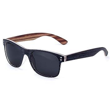QZHE Gafas de sol Gafas De Sol Hombre Polarizado Cuadrado ...