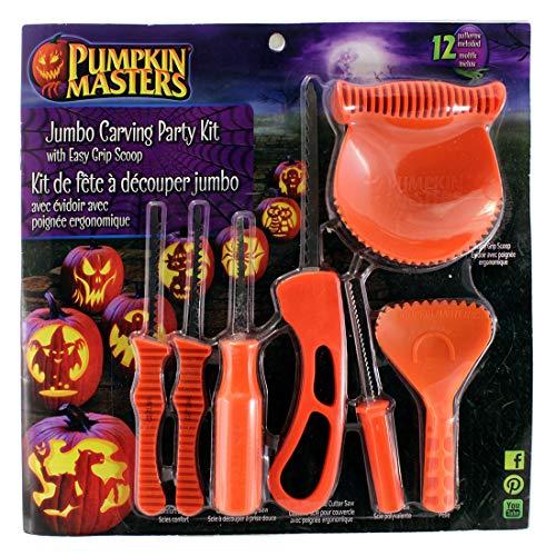 Pumpkin Masters Jumbo Carving Party Kit