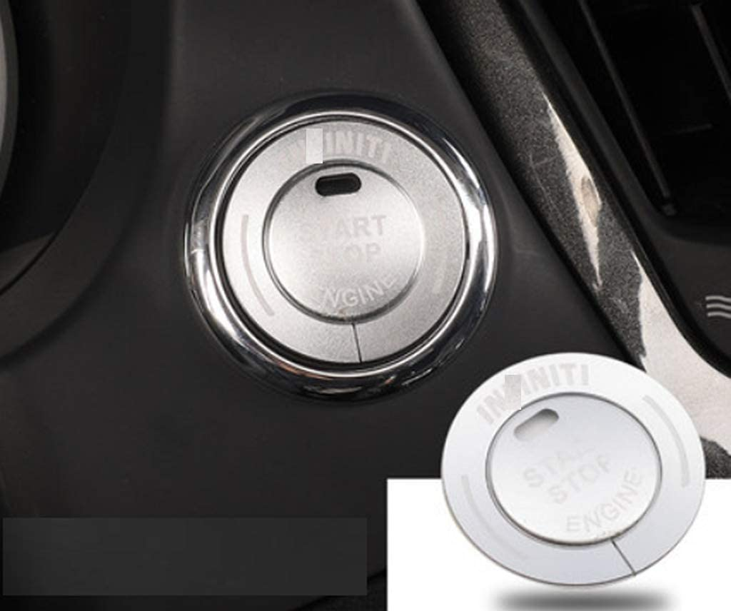 Blue Eppar New Protective Start Button Covers Compatible with Infiniti Q50 2013-2020