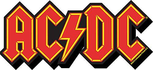 - Aquarius AC/DC Logo Funky Chunky Magnet