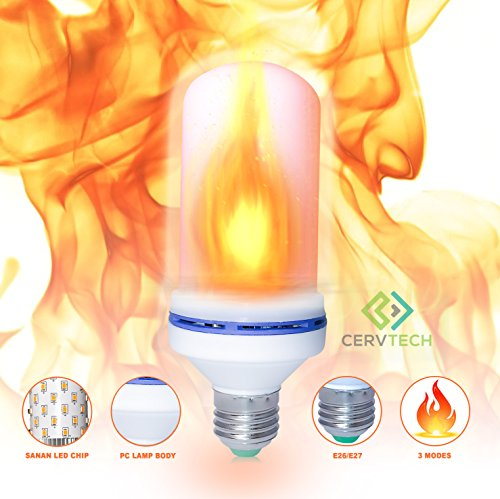 Loft 24 Series (Flame Bulb Led Light Fire atmosphere flameless bulb for Outdoor Indoor Home Office Hotel Restaurant Christmas Halloween Studio Atmosphere Lighting Decoration 2835 SMD 10 YEAR SATISFACTION GUARANTEE)