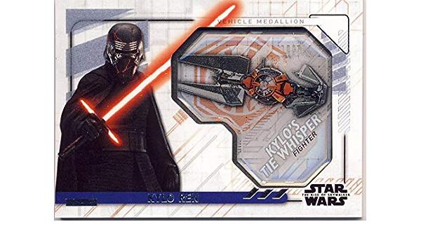 2019 Topps Star Wars-Rise of Skywalker-Terminer votre Set Medallion
