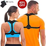 Back Posture Corrector for Women & Men & Kids- Effective and Comfortable Posture Brace for Slouching & Hunching - Discreet Design - Clavicle Support Improving Posture-Relief Back Pain