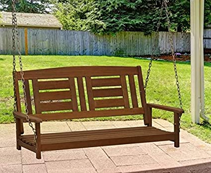 Phenomenal Amazon Com Outdoor Bench Swing Outdoor Swing Canopy Gmtry Best Dining Table And Chair Ideas Images Gmtryco