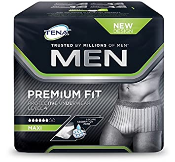 9f1a8b6b228a7 Tena Men Protective Underwear - Pack of 10  Amazon.co.uk  Health ...