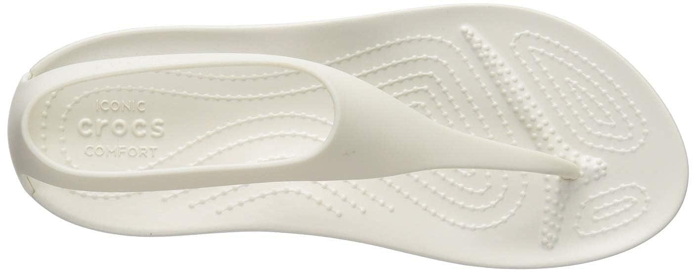Crocs Serena Flip W Zapatos de Playa y Piscina para Mujer