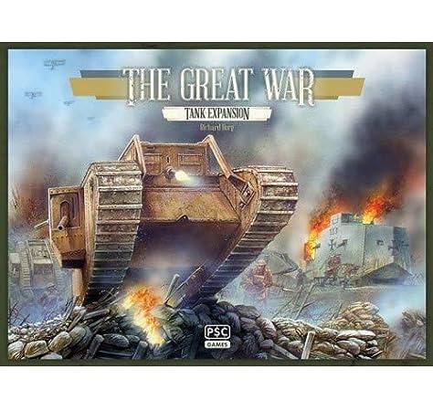 Desconocido Tank The Great War Boardgame Expansion: Amazon.es: Juguetes y juegos