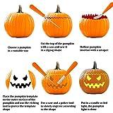 Aneco 4 Pack Halloween Pumpkin Carving Kit