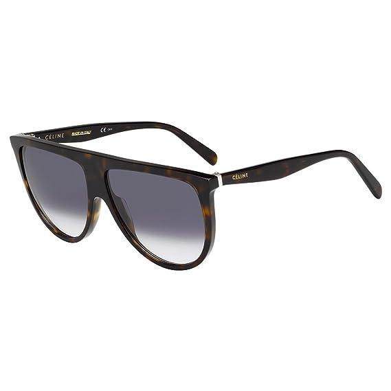 761b863a97 Celine CL41435-S-086-W2-61 Ladies CL 41435-S 086 W2 Dark Havana Sunglasses   Amazon.co.uk  Clothing