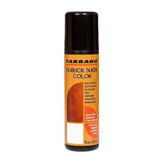 Tarrago Nubuck Suede Color Aplicador, Zapatos y Bolsos Unisex Adulto, Marrón (Ochre 08), 75 ml