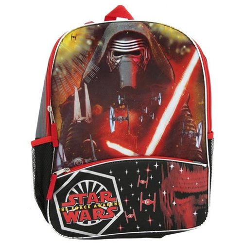 Star Wars Episode 7 The Force Awakens Backpack - Features Kylo - Kylo Ren Backpack