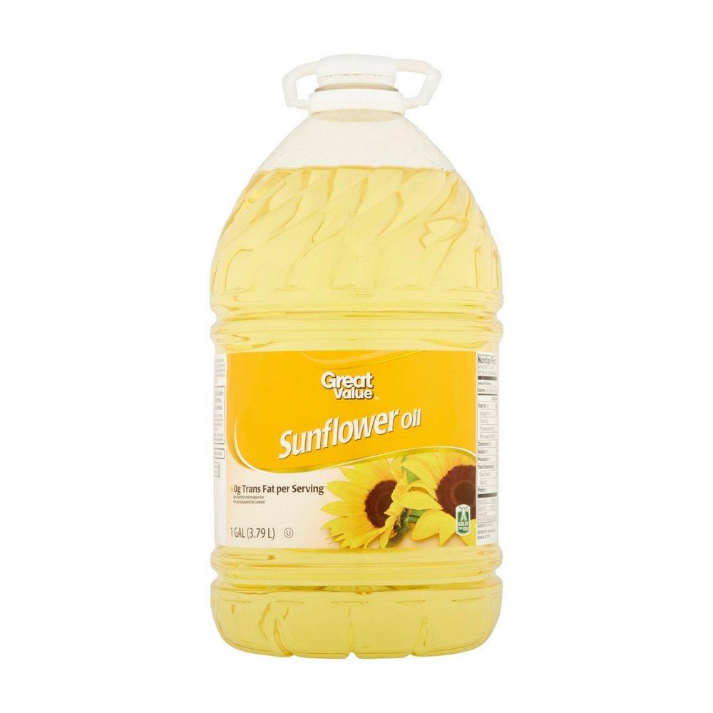 Great Value Sunflower Oil, 1 Gallon
