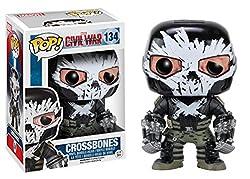 Funko POP Marvel: Captain America 3: Civil War Action Figure - Crossbones