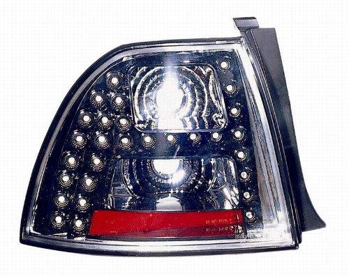 Depo 317-1968PXUS2 Honda Accord Coupe/Sedan Black LED Tail - Led Honda Accord Depo Tail