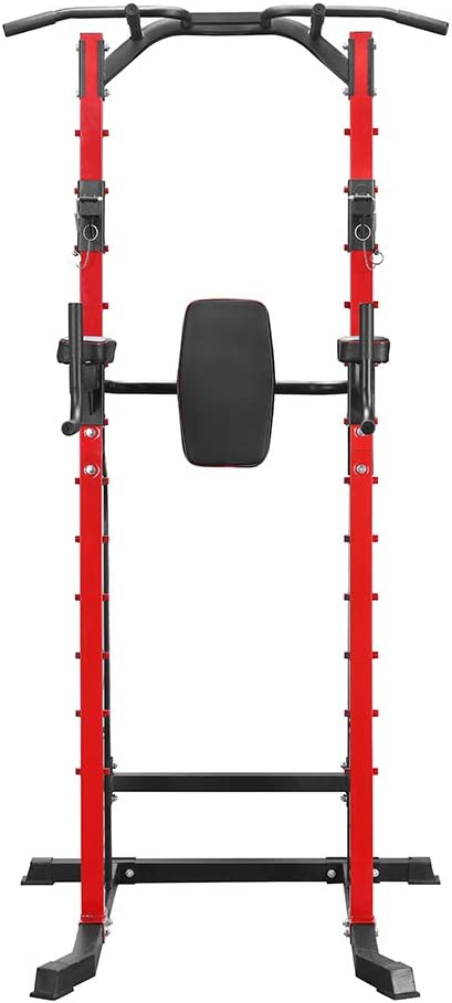 ZENOVA Power Tower Heavy Duty Gym Power Multi-Function Dip Stand Pull up Chin Up Home Strength Training Tower
