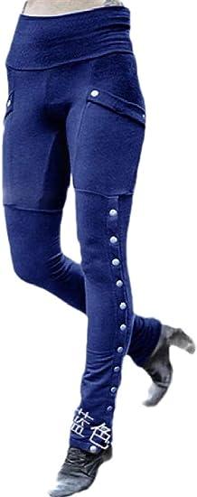 chenshiba-JP 女性のファッションリベットソリッドカラーセクシーボディコンペンシルパンツズボン