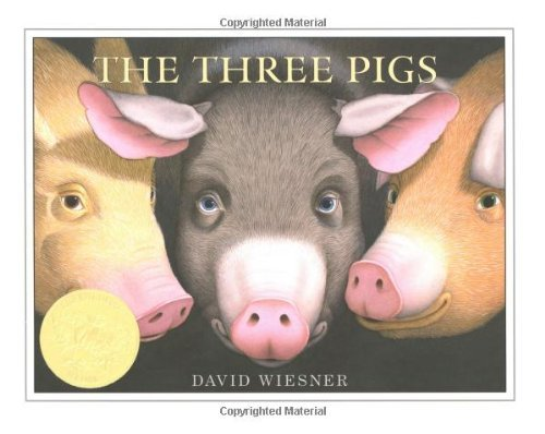 The Three Pigs (Caldecott Honor Book)