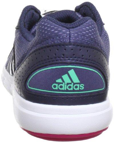 adidas Performance Essential Star II - Zapatillas de gimnasia de material sintético mujer gris - Grau (SHADE GREY F13 / MATTE SILVER / BLAST PINK F13)