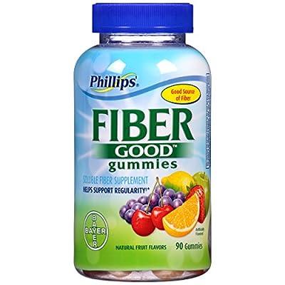 Phillips Good Gummies Fiber Supplement, 90 Count