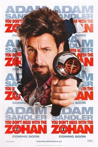 don t mess with the zohan free movie