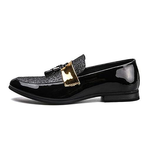 Hombres clásicos Oxfords Mocasines Transpirable cómodos Hombres Ligeros Zapatos de Vestir: Amazon.es: Zapatos y complementos