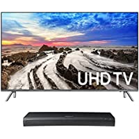 Samsung UN65MU8000 65 4K UHD HDR Smart TV with UBD-M9500 4K Ultra HD Blu-ray Player