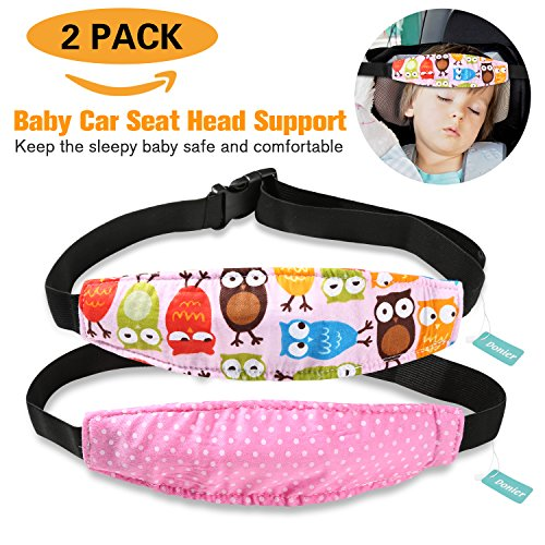 2 Packs Toddler Car Seat Neck Relief and Head Support, Pillow ...