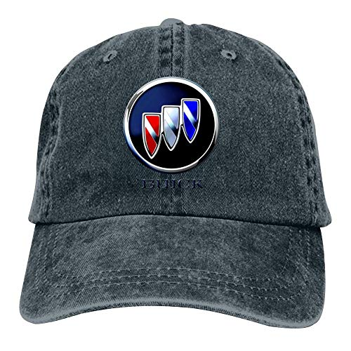 Adult Classic Casual Buick Motors Car Logo Printed Basketball Cowboy Hats Sport Trucker Snapback Cap