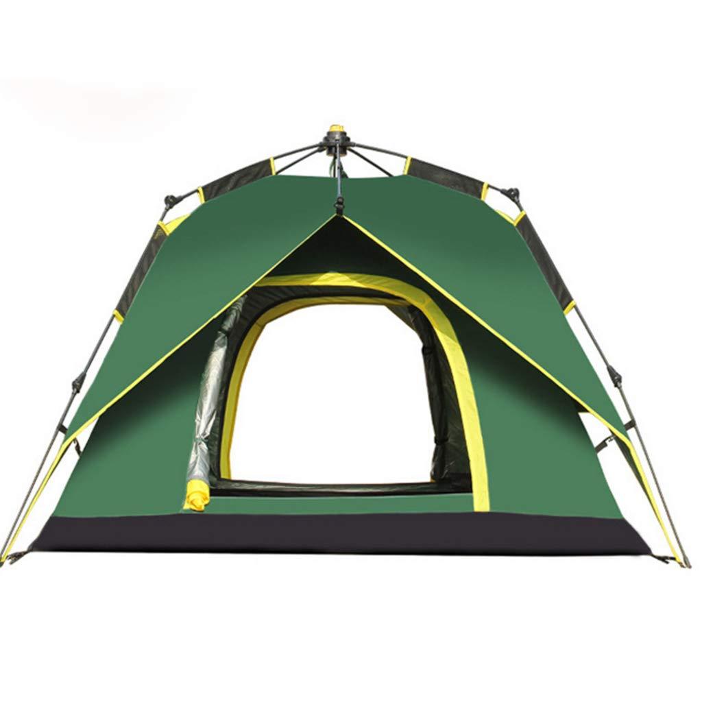 LYX Außenzelt Camel Outdoor 3-4 Personen Doppel Automatische Spinning Zelt Camping Reisen