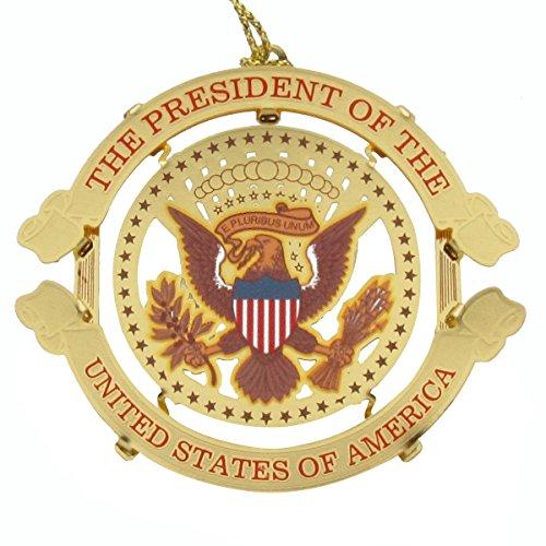 US President Donald Trump Presidential Seal Christmas Tree Ornament (Presidential Christmas Tree)