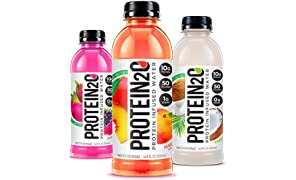 Protein2o Low Calorie Protein Infused Water, 10g Whey Protein Isolate, Variety Pack (16.9 Oz, Pack Of 12)