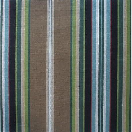 Gathered 22 Carlton Stripe Walnut Brown Cal King Bedskirt Cotton