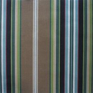 Amazon Com Carlton Stripe Walnut Brown Multi 84 Inch Long
