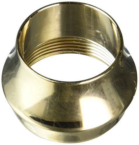 Rohl 9.17384IB Perrin & Rowe M24 Outlet Nipple Ring Aerator Outer Ring Only Blank Not Etched Country Spout Only, Inca Brass