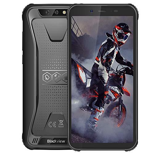 Téléphone Incassable, Blackview® BV5500 Plus Android 10 Smartphone Débloqué 4G avec Écran 5.5 Pouces, 3Go+32Go (SD 128Go… 1
