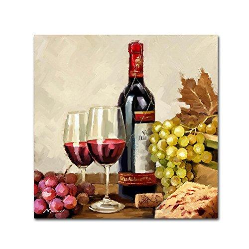 Vintage Wine by The Macneil Studio, 24x24-Inch Canvas Wall Art ()