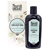Nourish Organic, Replenishing Argan Oil with Pomegranate and Rosehip, 3.4 oz (101 ml) – 2pc