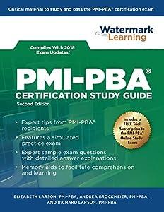 PMI-PBA Certification Study Guide book by Andrea Brockmeier