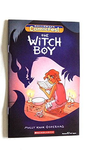 The Witch Boy Halloween Comicfest 2017 Mini Comic Book 8 1/2 Inches X 5 1/2 Inches - Halloween Comicfest - 2017 - Uncirculated First Printing -