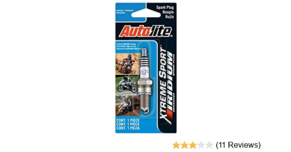 Amazon.com: Autolite XS4162DP Xtreme Sport Iridium Powersports Spark Plug: Automotive