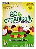 Go Organically Fruit Medley Fruit Snacks, 0.8 oz, 8 Count